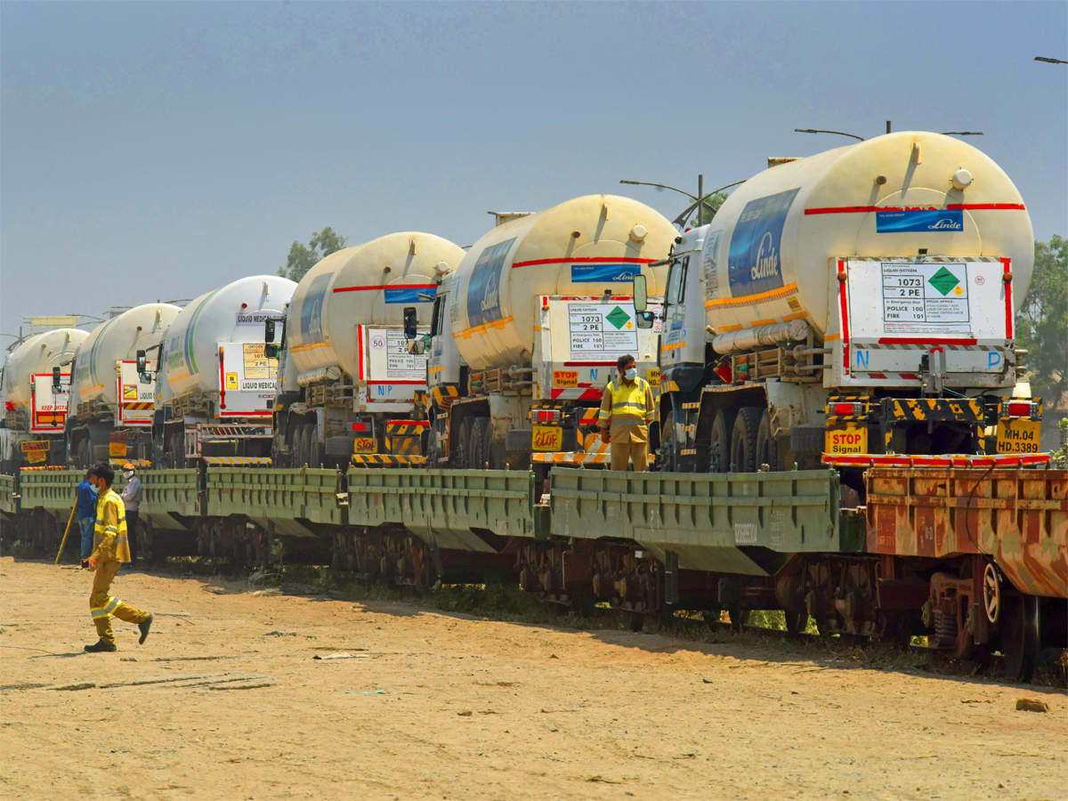 Life Saviour Oxygen Express: 3400 metric tons of oxygen transported from 54 trains