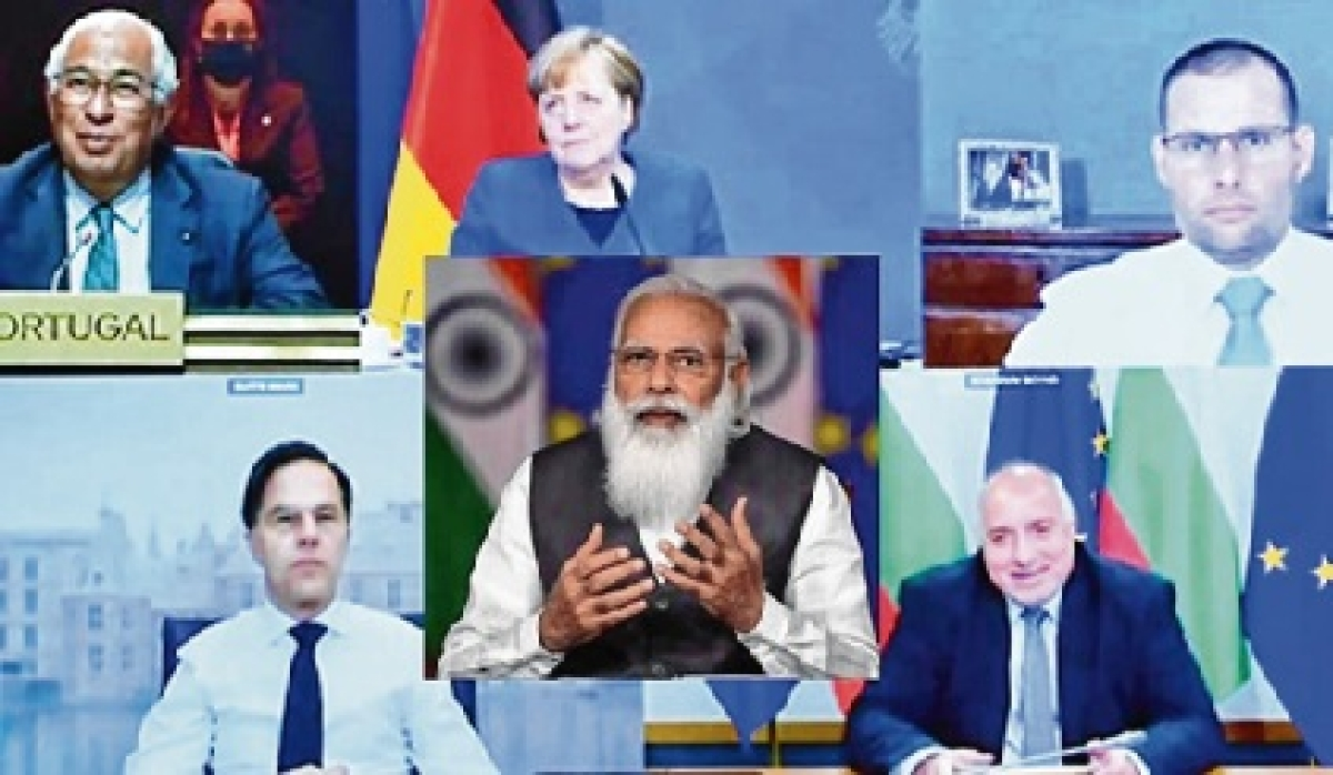 India-EU leaders meeting, discussion on epidemic as well as all other issues